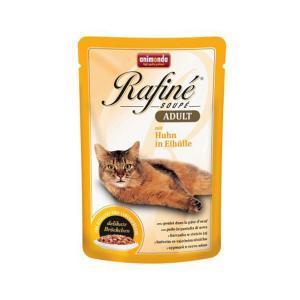 Animonda Rafine Soupe Adult консервы для кошек с курицей в яичном пудинге 100 г х 24 шт