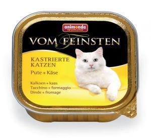 Animonda Vom Feinsten Adult для стерилизованных кошек Индейка/сыр 100г*32шт