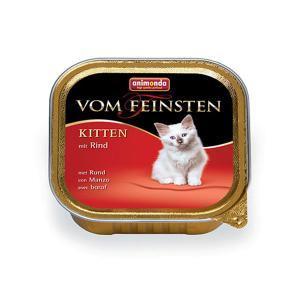 Animonda Vom Feinsten Kitten консервы для котят с говядиной 100 г (32 штуки)