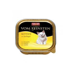 Animonda Vom Feinsten Kitten консервы для котят с мясом домашней птицы 100 г (32 штуки)