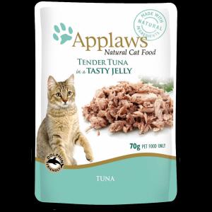 Applaws cat pouch tuna wholemeat in jelly консервы для кошек с тунцом в желе 70 г х 16 шт