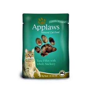 Applaws Cat Tuna & Anchovy pouch консервы для кошек с тунцом и анчоусами 70 г х 12 шт