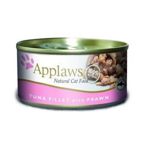 Applaws Cat Tuna Fillet & Prawn консервы для кошек с тунцом и креветками