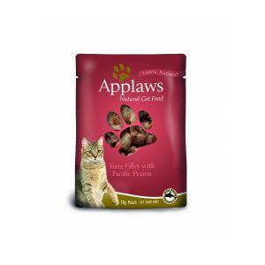 Applaws Cat Tuna & Pacifc Prawn pouch консервы для кошек с тунцом и креветками 70 г х 12 шт