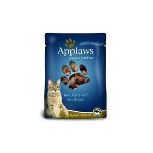 Applaws Cat Tuna & Seabream pouch консервы для кошек с тунцом и морским окунем 70 г х 12 шт