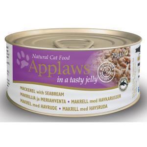 Applaws Jelly Mackerel & Seabream консервы для кошек со скумбрией и морским окунем