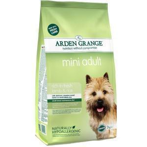 Arden Grange Adult Mini Lamb & Rice сухой корм с ягненком и рисом для взрослых собак мелких пород