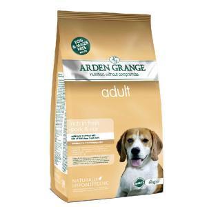 Arden Grange Adult Pork & Rice сухой корм со свининой и рисом для взрослых собак