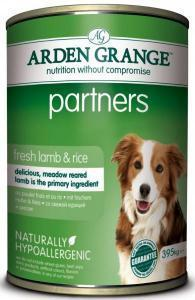 Arden Grange Partners Lamb & Rice консервы для собак с ягненком 395 г