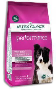 Arden Grange Perfomance сухой корм для активных собак с курицей и рисом