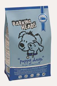 Barking Heads Puppy Days сухой корм для щенков с курицей, лососем и рисом