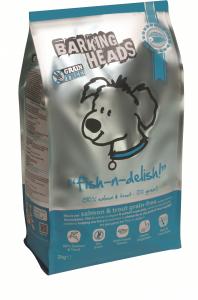 Barking Heads сухой корм для собак Лосось с форелью и бататом