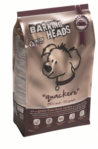 Barking Heads Quackers сухой корм для собак с Уткой и бататом