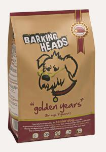 Barking Heads Good Years сухой корм для собак старше 7 лет Курица/рис