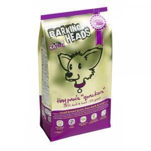 Barking Heads Tiny Paws Quackers Grain Free беззерновой сухой корм для собак мелких пород