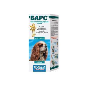 Барс cпрей инсектоакарицидный для собак 100 мл