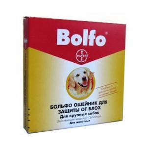 Bayer Bolfo ошейник для собак средних и крупных пород 65 см