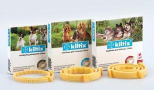 Bayer Kiltix ошейник от блох и клещей для собак