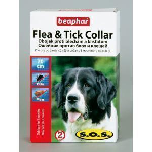 Beaphar S.O.S. Flea & Tick Collar for dogs ошейник от блох и клещей