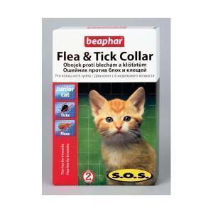 Beaphar S.O.S. Flea & Tick Collar for kitten ошейник для котят 35 см