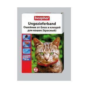 Beaphar Ungezieferband For Cats ошейник от блох и клещей для кошек 35 см