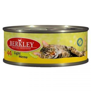 Berkley Beef & Venison Adult Cat №12 консервы для кошек с говядиной и олениной 100 г (6 штук)