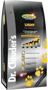 Best Choice Light Низкокалорийный сухой корм для собак 12,5 кг