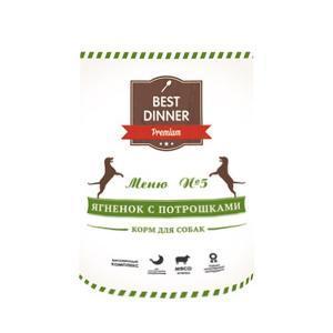 Best Dinner консервы для собак Меню № 5. 400 г