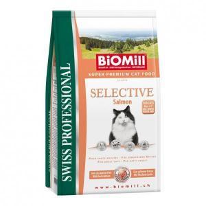 Biomill Cat Classic Chicken сухой корм для котят от 8 недель и взрослых кошек 10 кг