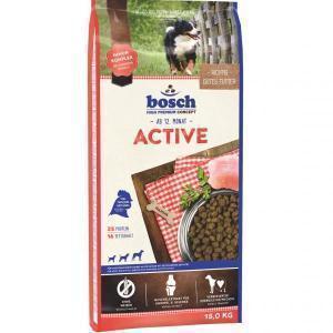 Bosch Active сухой корм для взрослых собак с высоким уровнем активности 15 кг
