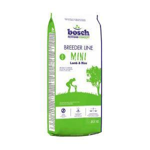 Bosch BreederLine Adult Mini сухой корм для взрослых собак маленьких пород с ягнёнком и рисом 20 кг