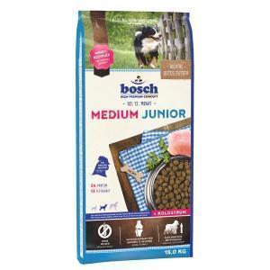Bosch Medium Junior сухой корм для щенков средних пород 15 кг
