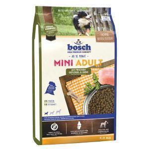 Bosch Mini Adult Птица и просо сухой корм для взрослых собак маленьких пород 3 кг