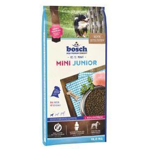 Bosch Mini Junior сухой корм для щенков маленьких пород собак 15 кг