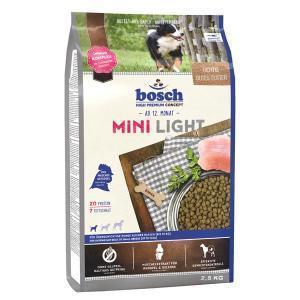 Bosch Mini Light сухой корм для маленьких пород собак с избыточным весом и склонных к полноте 2,5 кг