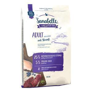 Bosch Sanabelle Adult Ostrich сухой корм для взрослых кошек домашнего содержания с мясом страуса 10 кг