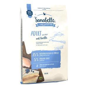 Bosch Sanabelle Adult with Trout сухой корм для взрослых кошек домашнего содержания с форелью 10 кг