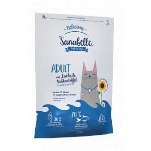 Bosch Sanabelle Delicious Adult с лососем и бататом сухой корм для кошек с пищевой непереносимостью 2 кг
