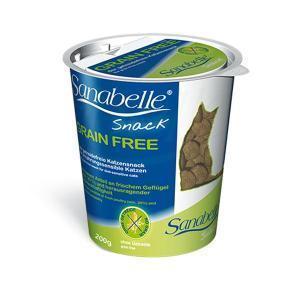 Bosch Sanabelle Grain Free Snack беззерновое лакомство для кошек с аллергией 200 г