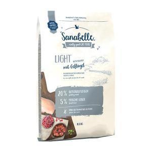 Bosch Sanabelle Light сухой корм для взрослых кошек, склонных к избыточному весу после кастрации (стерилизации) 10 кг