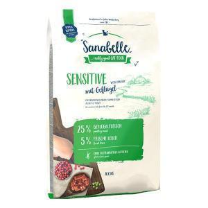 Bosch Sanabelle Sensitive with Poultry сухой корм для взрослых кошек с чувствительным пищеварением с птицей 10 кг