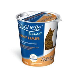 Bosch Sanabelle Shiny Hair Snack лакомство поддерживающее здоровье кожи и шерсти для кошек 150 г