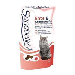 Bosch Sanabelle Snack с уткой и гранатом полувлажное лакомство для здоровья сердечно-сосудистой системы у кошек 55 г
