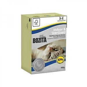 Bozita Feline Funktion Indoor & Sterilised консервы для стерилизованных кошек 190 г