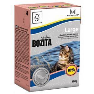 Bozita Feline Funktion Large консервы для кошек крупных пород 190 г