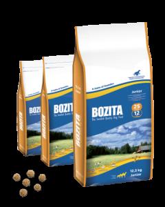 Bozita Junior 25/12 сухой корм для щенков 12,5 кг