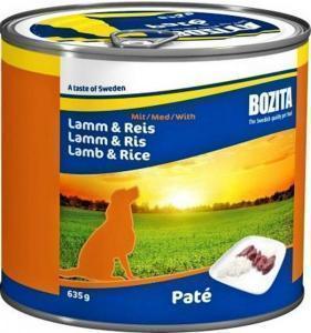 Bozita консервы для собак с ягненком и рисом 635 г ж/б