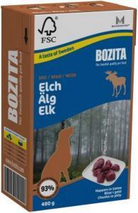 Bozita кусочки в желе консервы для собак с мясом лося 480 г