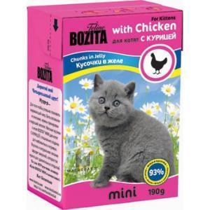 Bozita Mini Kitten консервы для котят 190 г