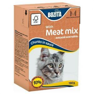 Bozita Mini with Meat Mix консервы для кошек с мясом 190 г